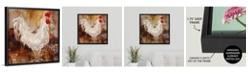 "GreatBigCanvas Backyard Guest I' Framed Canvas Wall Art, 24"" x 24"""