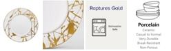 Noritake Raptures Gold Salad Plate