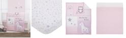 NoJo NoJo Unicorn, Owl and Stars 3-Piece Crib Bedding Set