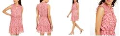 Be Bop Juniors' Smocked Floral-Print Dress