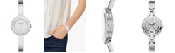 A|X Armani Exchange Women's Giulia Stainless Steel Bangle Bracelet Watch 30mm