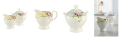 Aynsley China Archive Rose Sugar and Cream Set