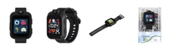 iTouch PlayZoom Black Smartwatch for Kids Solid Black 42mm