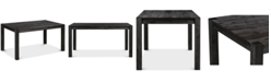 Furniture Avondale Graphite Rectangle Dining Table, Created for Macy's