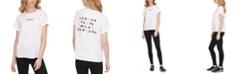 DKNY Sport Reflective Logo T-Shirt