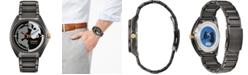 Citizen Citizen Eco-Drive Men's Star Wars Classic Black Stainless Steel Bracelet Watch 42mm