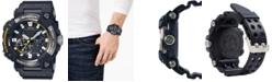 G-Shock Men's Solar Frogman Black Resin Strap Watch 53.3mm