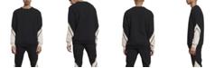 nANA jUDY Men's Crew Neck Panel Sweater