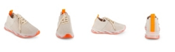 Wanted Women's Marathon Lace Up Neon Sole Sneakers