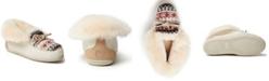 Dearfoams Women's Fireside Brisbane Fairisle Knit Slipper