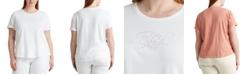 Lauren Ralph Lauren Plus Size Signature Logo T-Shirt