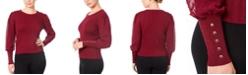 Joseph A Women's Mixed Media Sweater