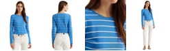 Lauren Ralph Lauren Striped Long Sleeve Top