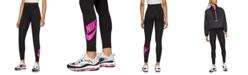 Nike Women's Sportswear Logo High-Waist Full Length Leggings