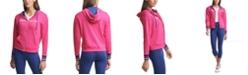 Tommy Hilfiger Logo Drop-Shoulder Zip Hoodie