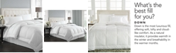 Charter Club  CLOSEOUT! Vail Level 2 European White Down Twin Comforter, Light Warmth Hypoallergenic UltraClean Down, Created for Macy's