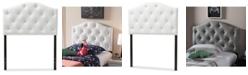 Furniture Myra Faux Leather Upholstered Twin Headboard