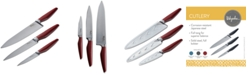 Ayesha Curry 3-Pc. Japanese Steel Cooking Knife Set
