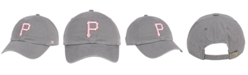 '47 Brand Pittsburgh Pirates Dark Gray Pink CLEAN UP Cap