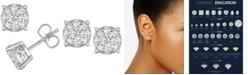 Macy's Diamond Stud Earrings (3/4 ct. t.w.) in 14k Gold