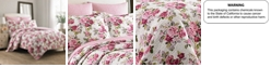 Laura Ashley Twin Lidia Pink Quilt Set