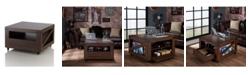 Furniture of America Vernon Square Storage Coffee Table