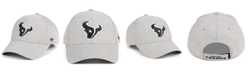 '47 Brand Houston Texans Heathered Black White MVP Adjustable Cap