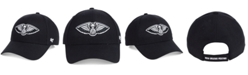 '47 Brand New Orleans Pelicans Black White MVP Cap