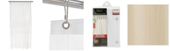 Bath Bliss Mildew Resistant Shower Liner