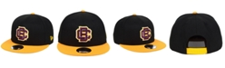 New Era Bethune Cookman University Wildcats Black Team Color 9FIFTY Snapback Cap
