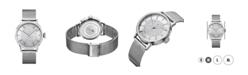 Jbw Women's Belle Diamond (1/8 ct.t.w.) Stainless Steel Watch