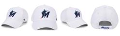 '47 Brand Miami Marlins White MVP Cap