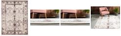 Bridgeport Home Aldrose Ald6 Brown 10' x 13' Area Rug