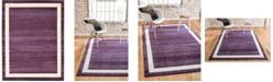 Bridgeport Home Lyon Lyo5 Violet 10' x 13' Area Rug