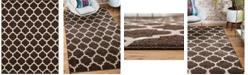 Bridgeport Home Arbor Arb1 Brown 8' x 10' Area Rug