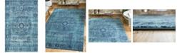 Bridgeport Home Wisdom Wis3 Turquoise 5' x 8' Area Rug