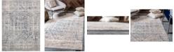 Bridgeport Home Odette Ode1 Gray 9' x 12' Area Rug