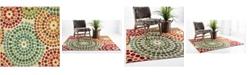 Bridgeport Home Pashio Pas1 Beige 6' x 6' Square Area Rug