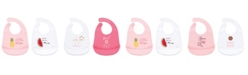 Hudson Baby 2-pack Silicone Bibs With Pocket