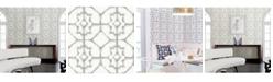 """A-Street Prints 20.5"""" x 396"""" Verandah Shibori Wallpaper"""