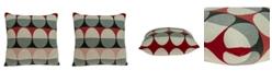 Parkland Collection Zinca Transitional Multicolor Pillow Cover