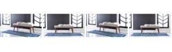 Bridgeport Home Wisdom Wis3 Royal Blue Area Rug Collection