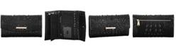 Brahmin Modern Melbourne Embossed Leather Checkbook