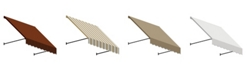 """Awntech 8' Santa Fe Twisted Rope Arm Window/Entry Awning, 31"""" H x 24"""" D"""