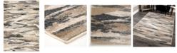 """Palmetto Living Riverstone Impressionist Multi 5'3"""" x 7'6"""" Area Rug"""