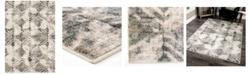"Palmetto Living Riverstone Maverick Cloud Gray 7'10"" x 10'10"" Area Rug"