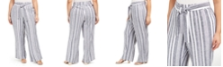 INC International Concepts INC Plus Size Front-Tie Wide-Leg Pants, Created for Macy's