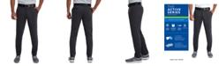 Haggar Men's Active Series Slim-Fit Stretch Solid Casual Pants