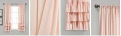 "Lush Decor Allison 40"" x 63"" Ruffle Curtain Set"