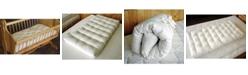 Holy Lamb Organics Natural Wool Bassinet Mattress Encased in Organic Cotton Canvas